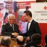 Christoph Berdenich und Franz Stifter - Rotes Kreuz Oberpullendorf